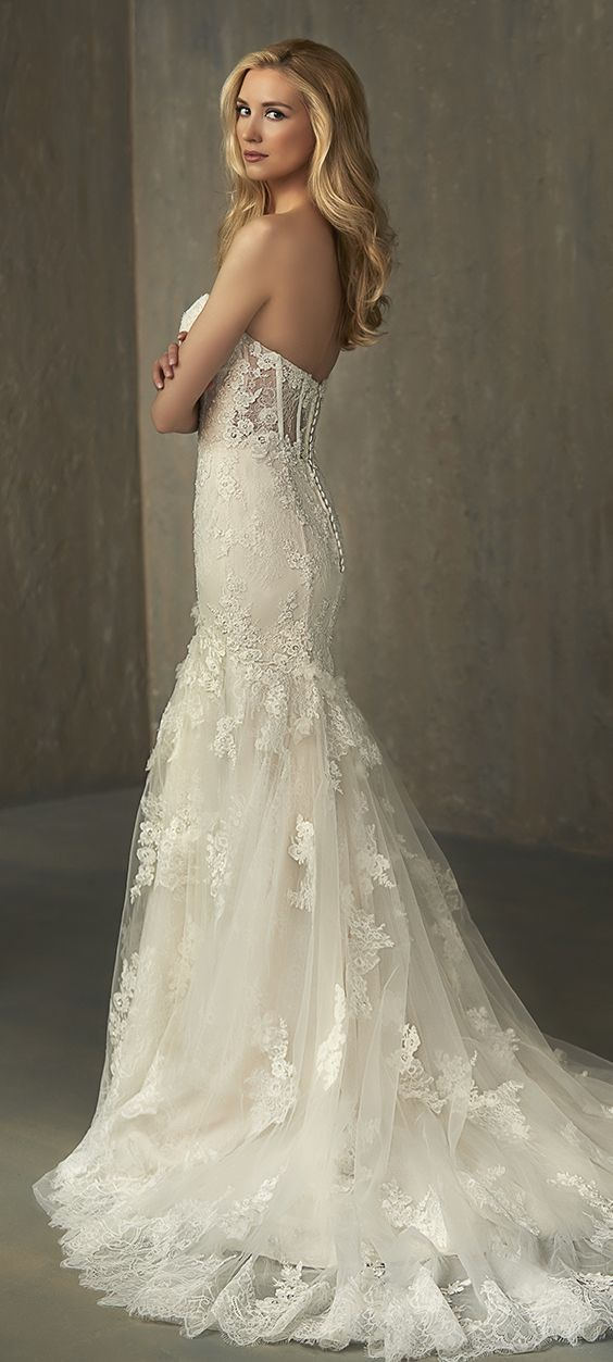 Wedding Dress Inspiration - Adrianna Papell Platinum | Dress ideas ...