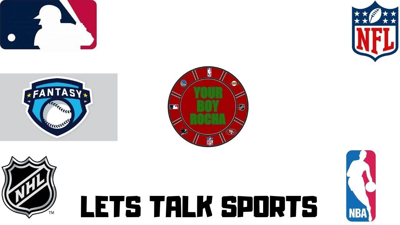 Fantasy Baseball Mock Draft/Lets Talk Sports EP.2 in 2020