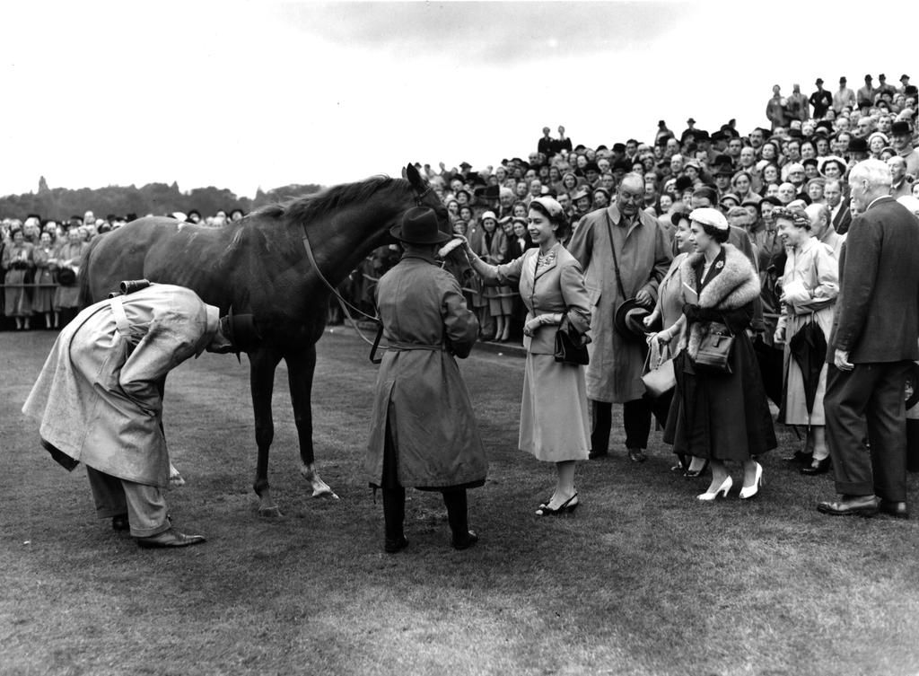 Aureole won the #KingGeorge in 1954 for The Queen, a race named after her late parents http://po.st/KGRacing