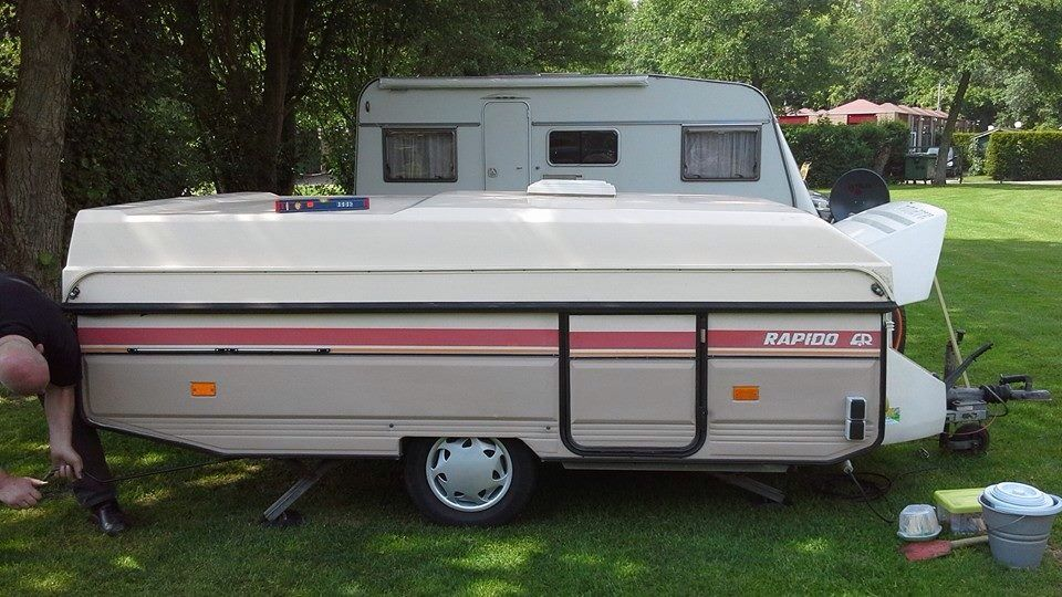 caravane pliante rapido orline des ann es 80 39 caravanes rapido pinterest caravane. Black Bedroom Furniture Sets. Home Design Ideas