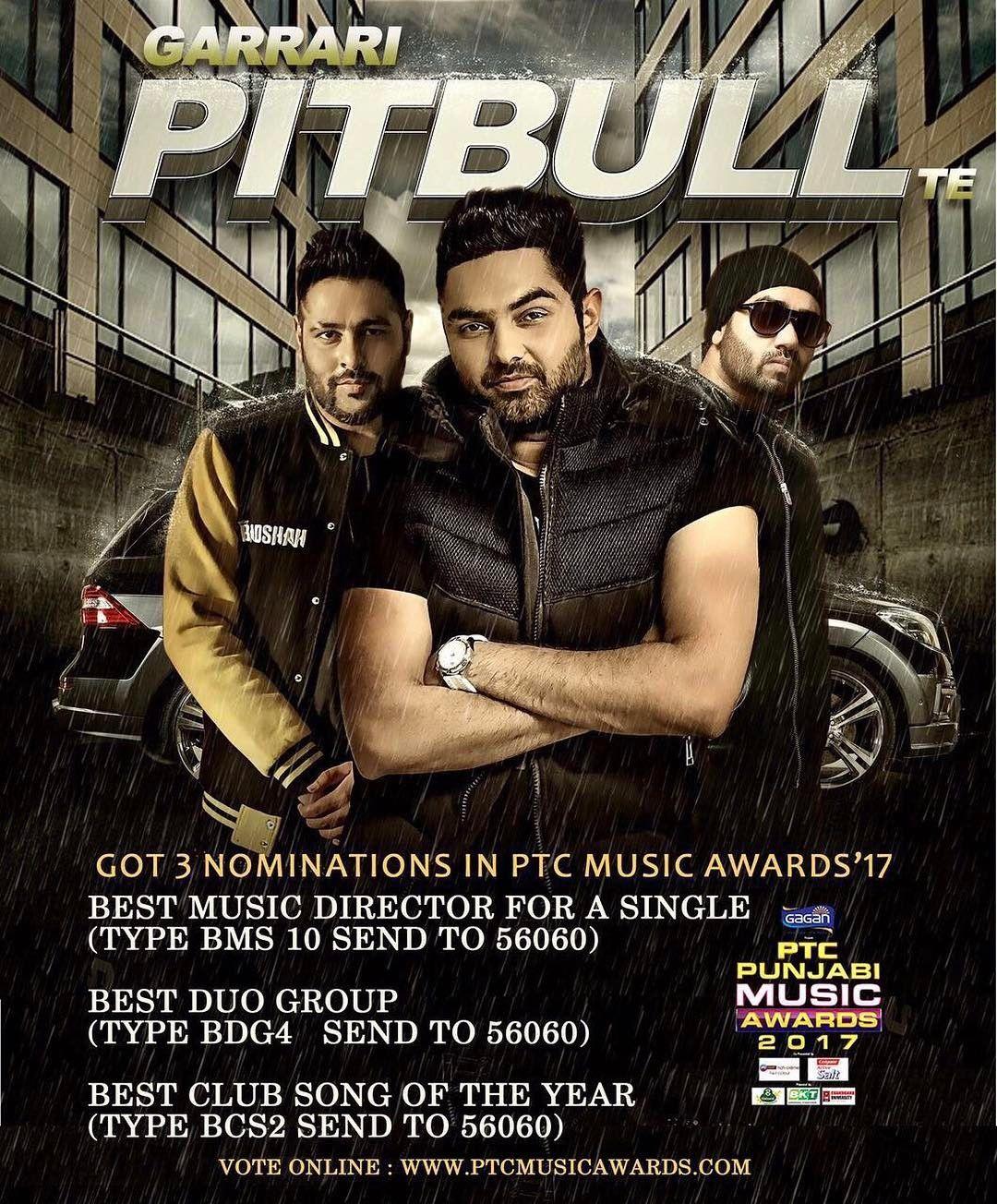 Lao Ji Tuhade Pyar Karke Aagiyan 3 Nominations For Garaari Pitbull Te Paado Vote Hun Dabbke Raigurinder Jslsing Pitbull Songs Pitbull Music Pitbull Lyrics