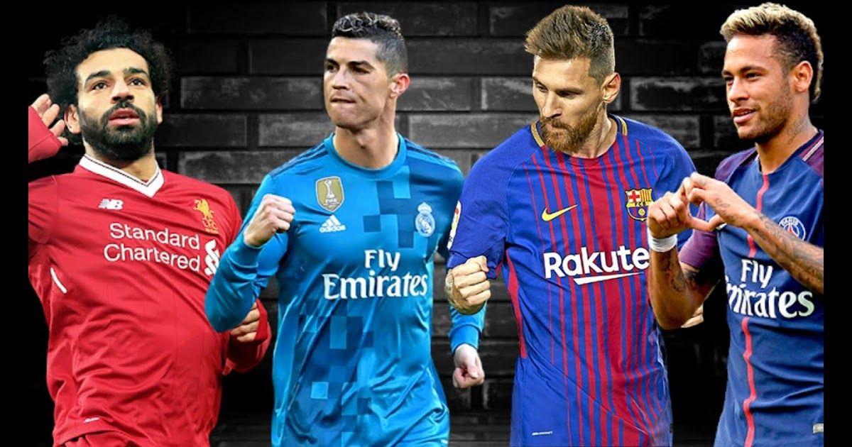Mohamed Salah Cristiano Ronaldo Lionel Messi Neymar Junior Especial 600 Inscritos 2018 Messi Vs Ronaldo Vs Salah V Messi And Ronaldo Messi And Neymar Ronaldo