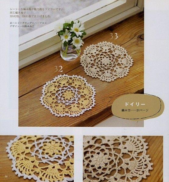 Crochet doily + diagram | agulhando crochet | Pinterest | Crochet ...