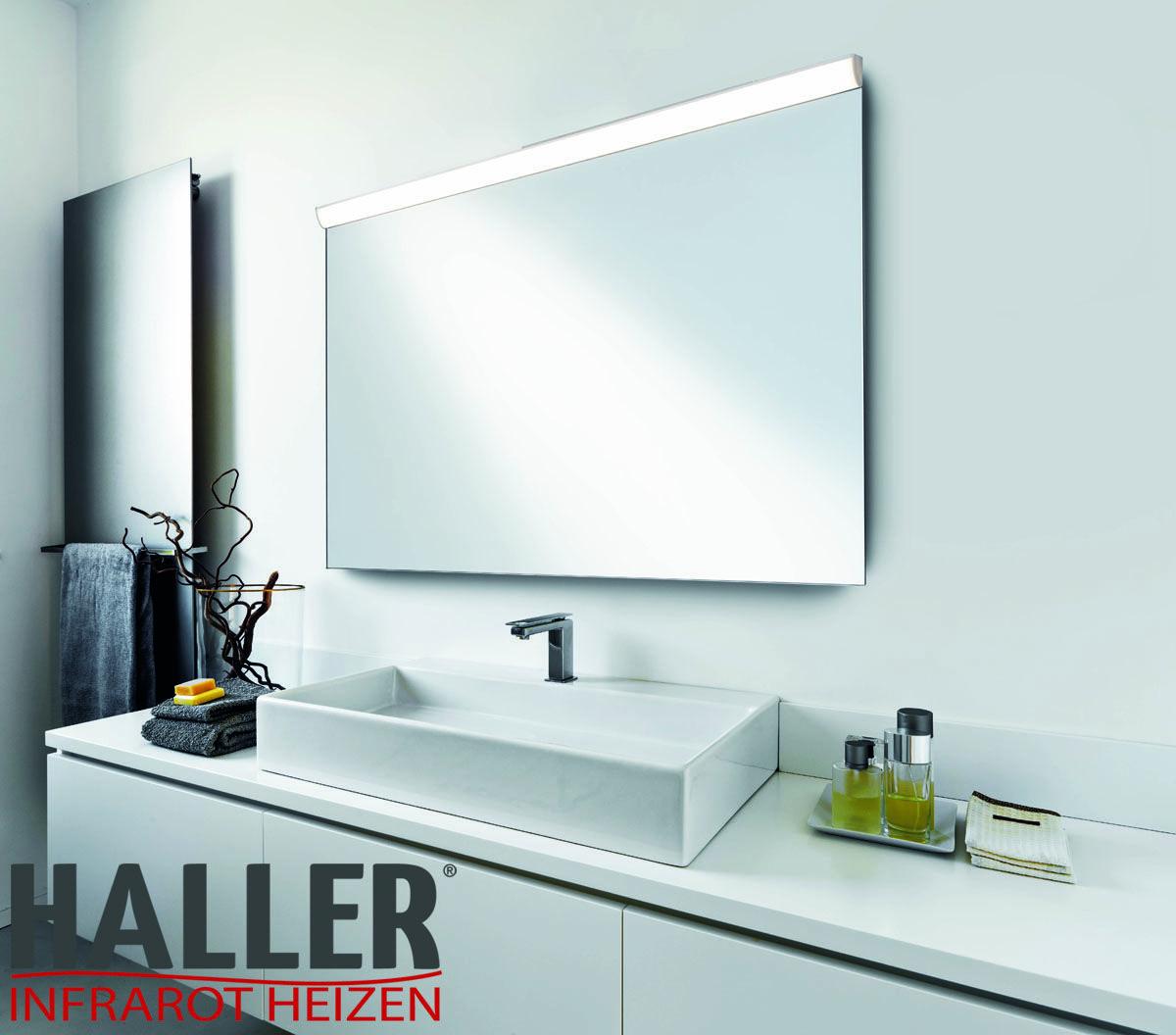 Die Warme Spiegelflache Ist Besonders In Feuchten Raumen Ein Vorteil Beschlagene Spiegel Gehoren Damit Der Vergangenhei Infrarotheizung Spiegelheizung Spiegel