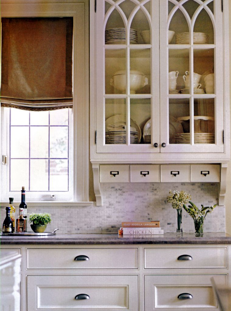 An Alternative To Wood Glass Front Cabinets Glass Kitchen