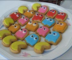 Pacman cupcake
