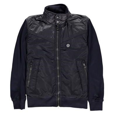 Mens Mormont Jacket Description: Introducing the Men's Mormont Jacket, a sport influenced track jacket style by Duck and Cover. Featuring tonal fabric mix body with fleece sleeves and a contrast nylon concealed hood.     • Concealed hood  • Branding detail  • Long sleeves  • Zip and press stud fastening  • She... http://qualityclothing.me.uk/mens-mormont-jacket-4/