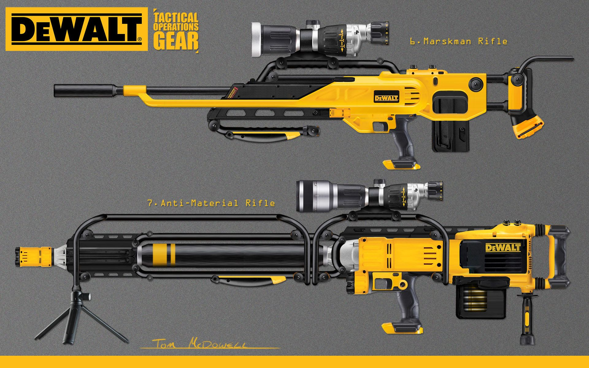 THIS DeWALT NAIL GUN WILL SHOOT A 16D NAIL 200 FEET. DOES NOT NEED A ...