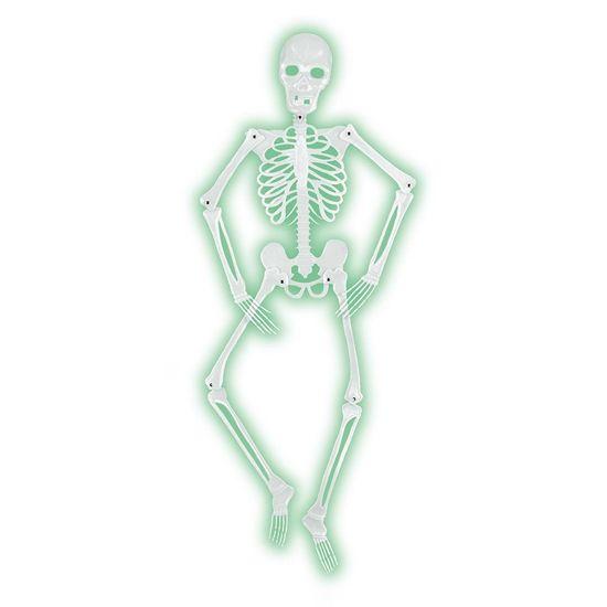 Mr Bones-A-Glo Skeleton (6 each) - at Bulk Party Supplies - bulk halloween decorations