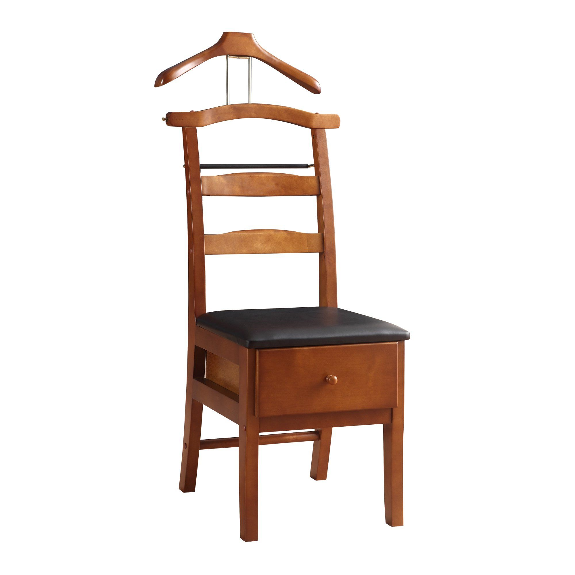 Vl16123 Manchester Chair Valet Light Walnut Finish Traditional Design With Solid Maple Wood Walmart Com In 2020 Maple Wood Valet Chair Solid Maple