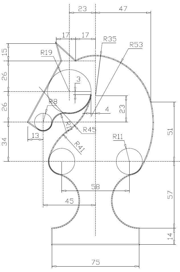 Tangencias5 Jpg 632 953 Technical Drawing Mechanical Design Mechanical Engineering Design
