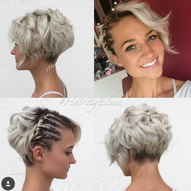 Hast Du Lockiges Haar Attraktive Kurzhaarfrisuren Fur Elegante Locken Seite 2 Von 13 Neue Frisur Coole Frisuren Unordentliche Frisur Hochzeitsfrisuren