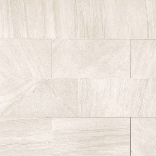 Purestone 12 X 24 Floor Wall Tile In Beige By Bedrosian Tile Stone In 2020 Patterned Floor Tiles Wall Tiles Stone Tile Texture