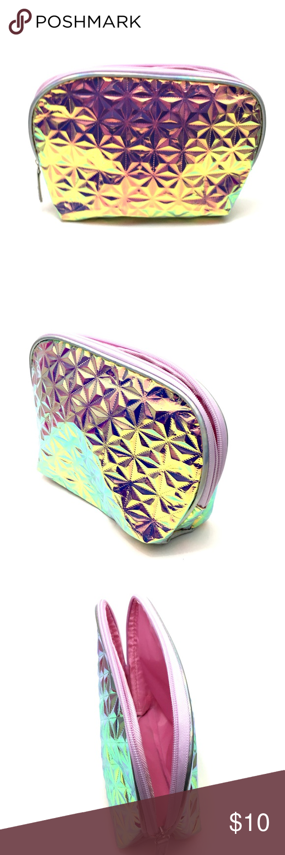 5 FOR 25 Holographic Makeup Bag Holographic makeup