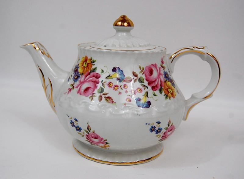 Vintage Ellgreave Ironstone Teapot England #teapots