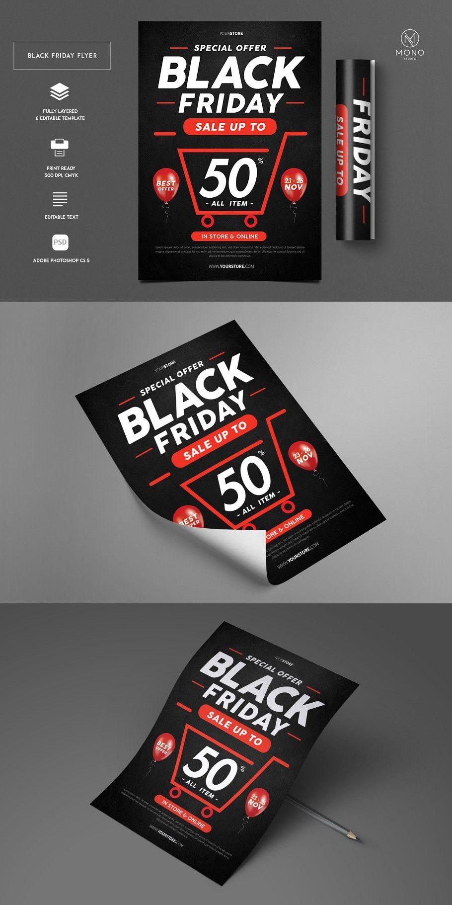 Black Friday Sale Flyer In 2020 Black Friday Sale Flyer Black Friday Sale Sale Flyer