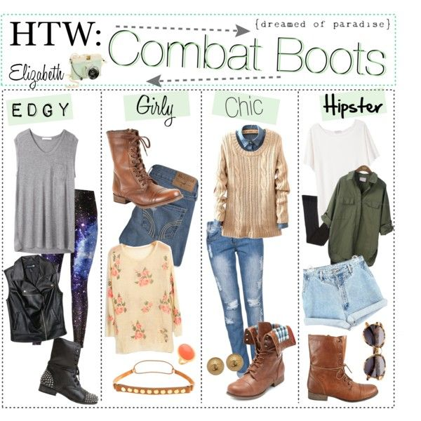 How To Style Brown Combat Boots