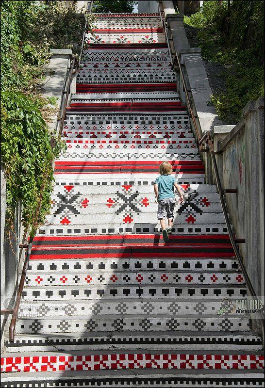 Tg-Mures | The Rákóczi  Staircase, Transylvania - Romania