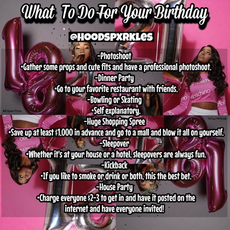 Birthday Goals Image By Alaina On My B Day Hoe Tips