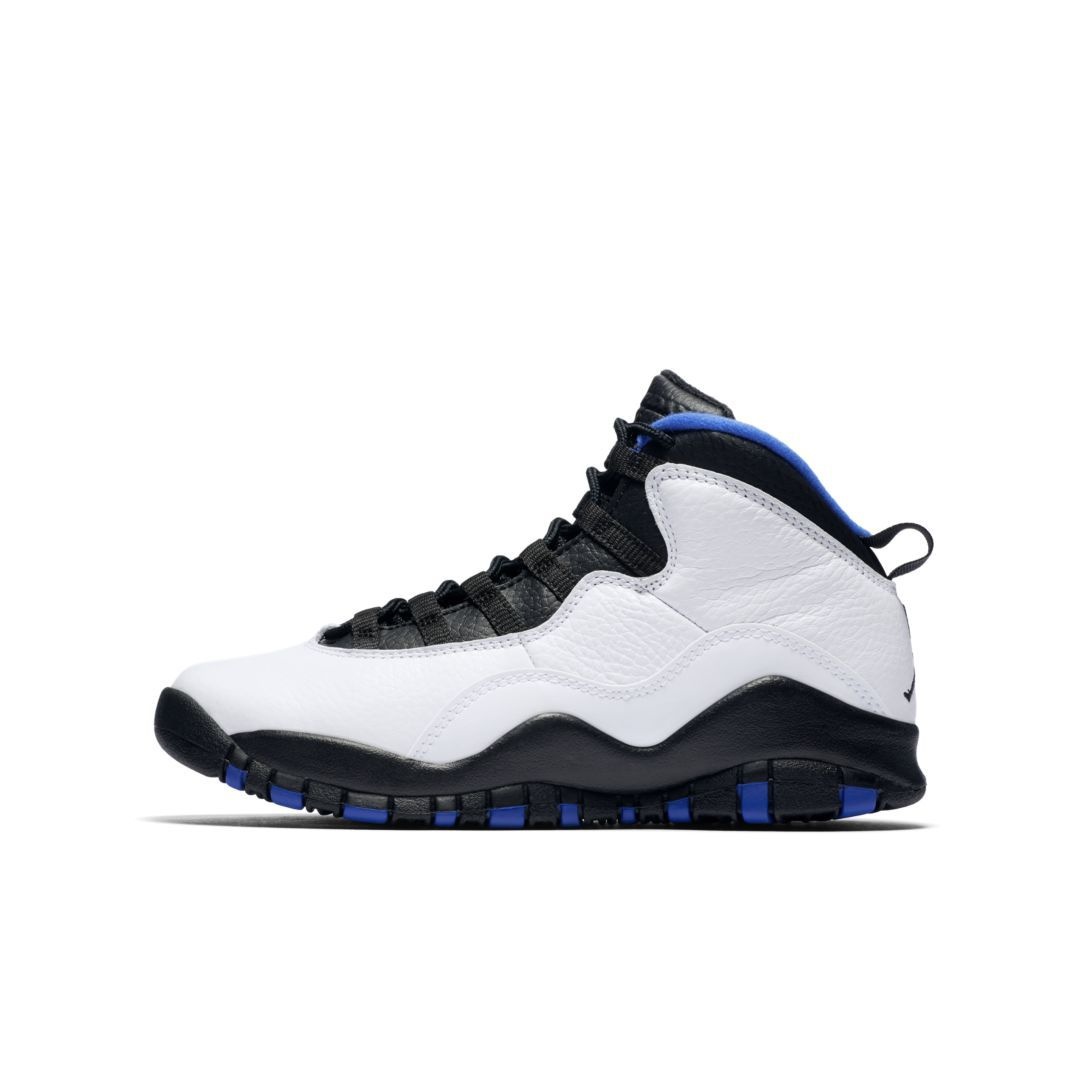 cheaper 7bde9 a771e Air Jordan Retro 10 (3.5y-7y) Big Kids  Shoe Size 6.5Y (White)