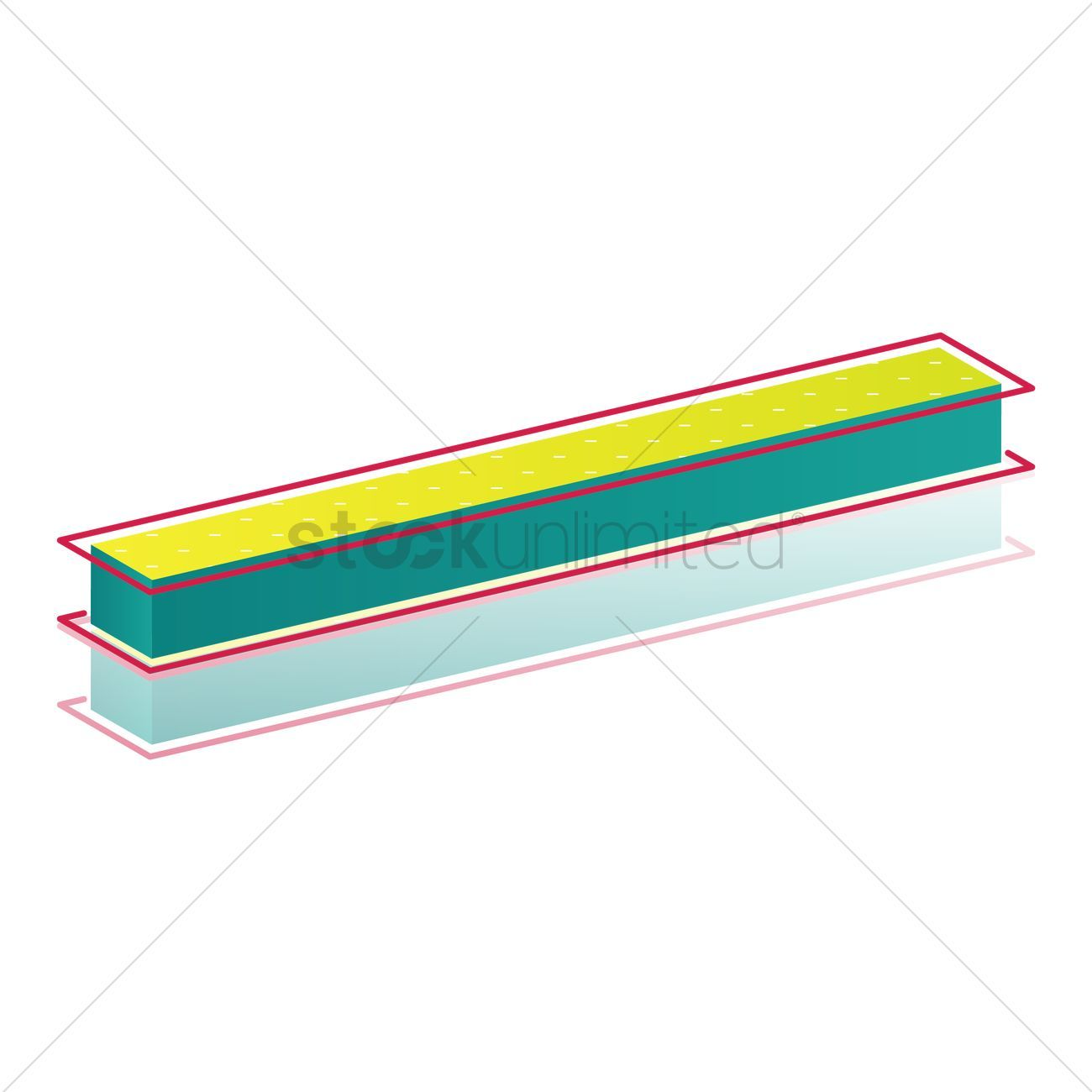 You Don't Have To Be A Designer To Get Awesome Visuals 3d fraction bar symbol vectors, stock clipart ,