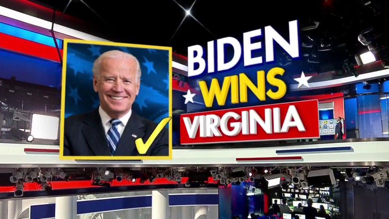 FOX NEWS Fox News projects Joe Biden wins Virginia