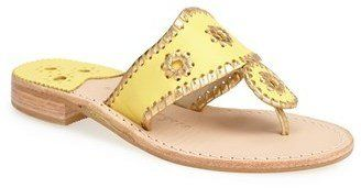 ShopStyle Collective, Jack Rogers Thong sandal
