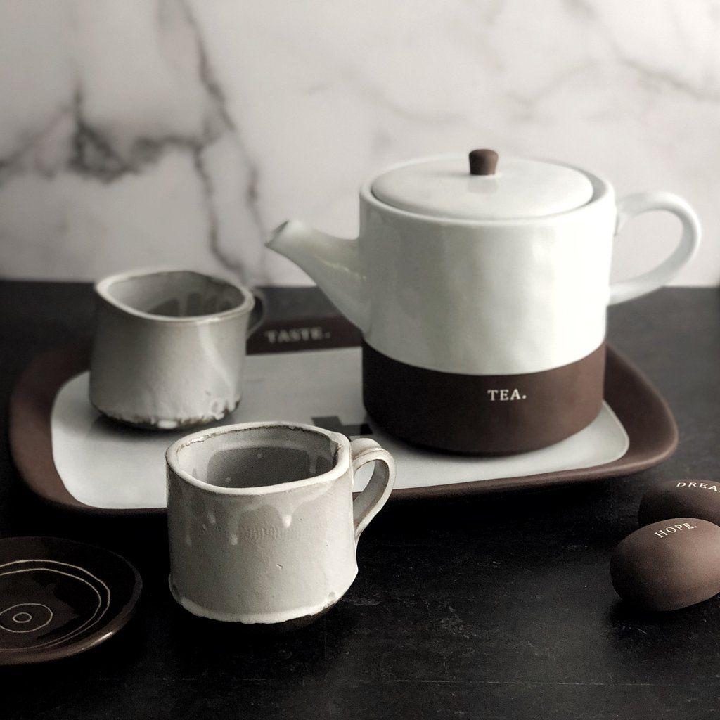 Rae Dunn Chocolat Collection Boutique Tea Pot Shop Rae Dunn Tea