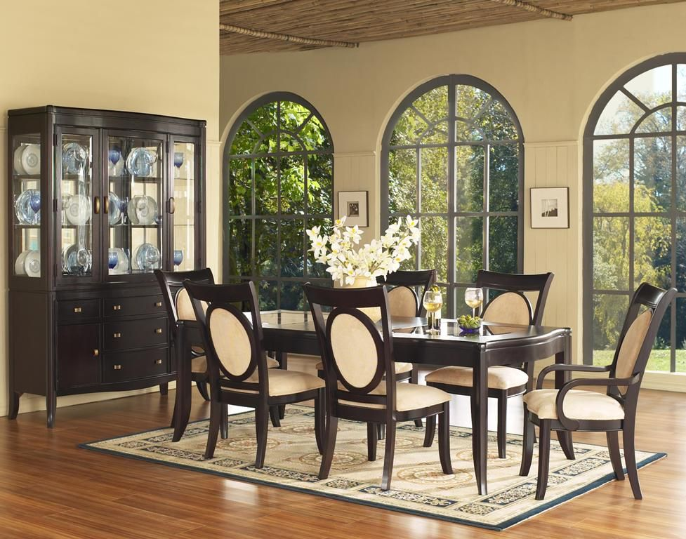 Superb Painting Of Perfect Formal Dining Room Sets For 8