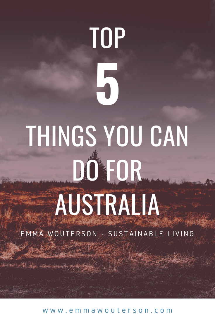 Here Is A Top 5 On Things You Can Do For The Australian Bush Fires The Forrest Fires In Australia Are Really Bad But There Are Fires All Around Th In 2020 Duurzaamheid
