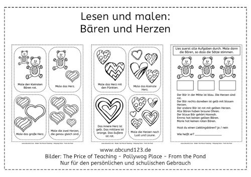 Valentinstag | German | Pinterest | German, German resources and ...