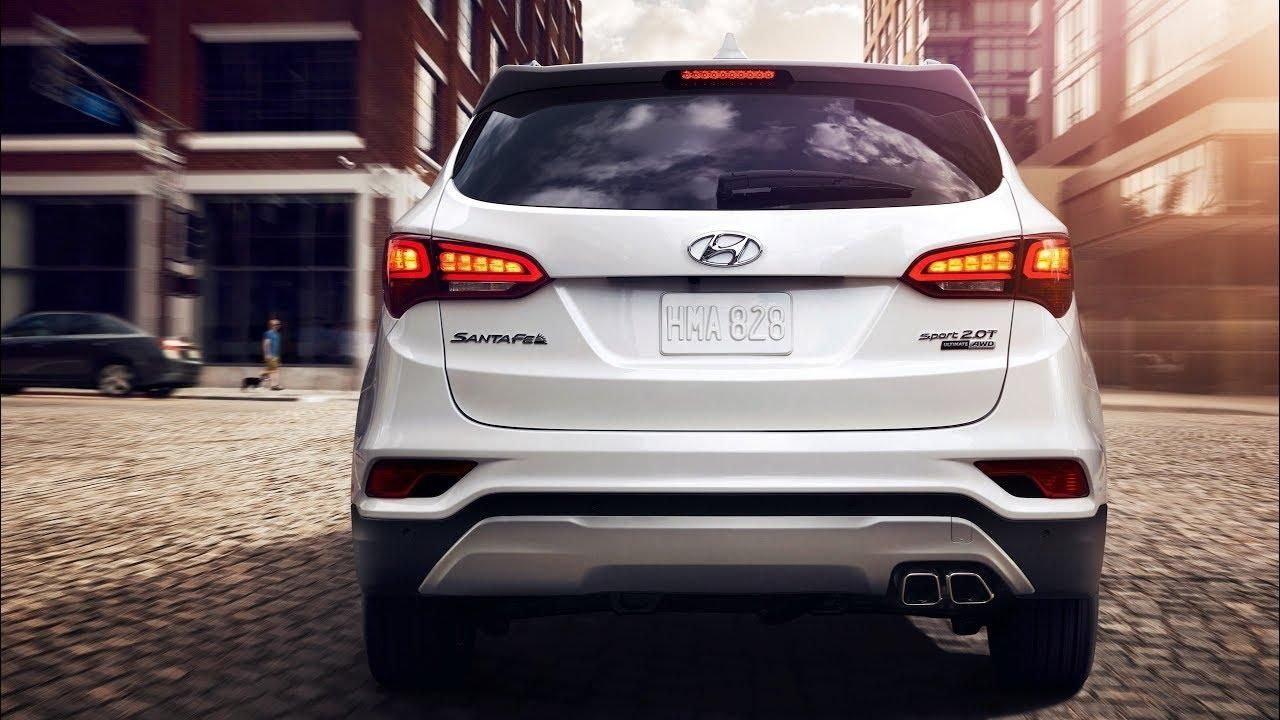 2018 Hyundai Santa Fe Sport 2.0T Review - Youtube with 2018 Hyundai