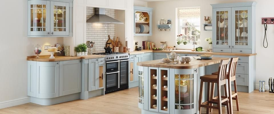 Kitchen Ideas Howdens off white blue kitchen units - google search | ideas for the house