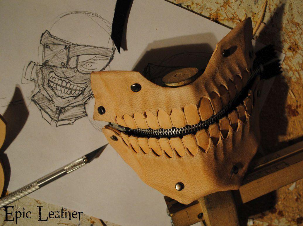 Tokyo Ghoul Kaneki Mask - WIP