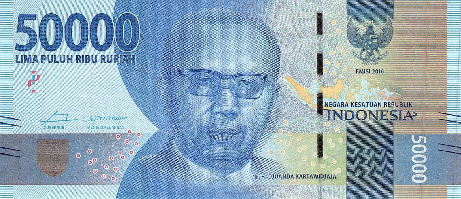Gambar Pahlawan Di Mata Uang Indonesia