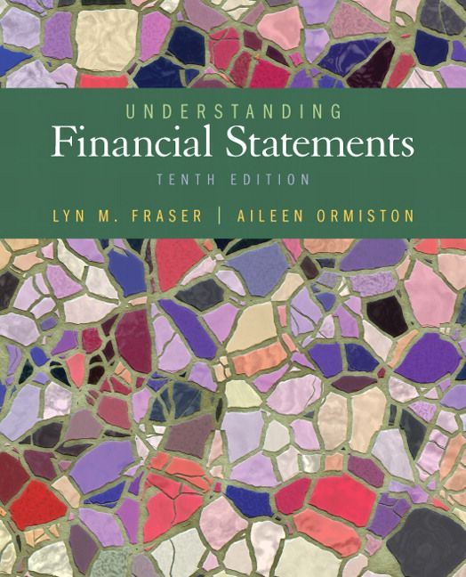 Test Bank Solutions For Understanding Financial Statements Th