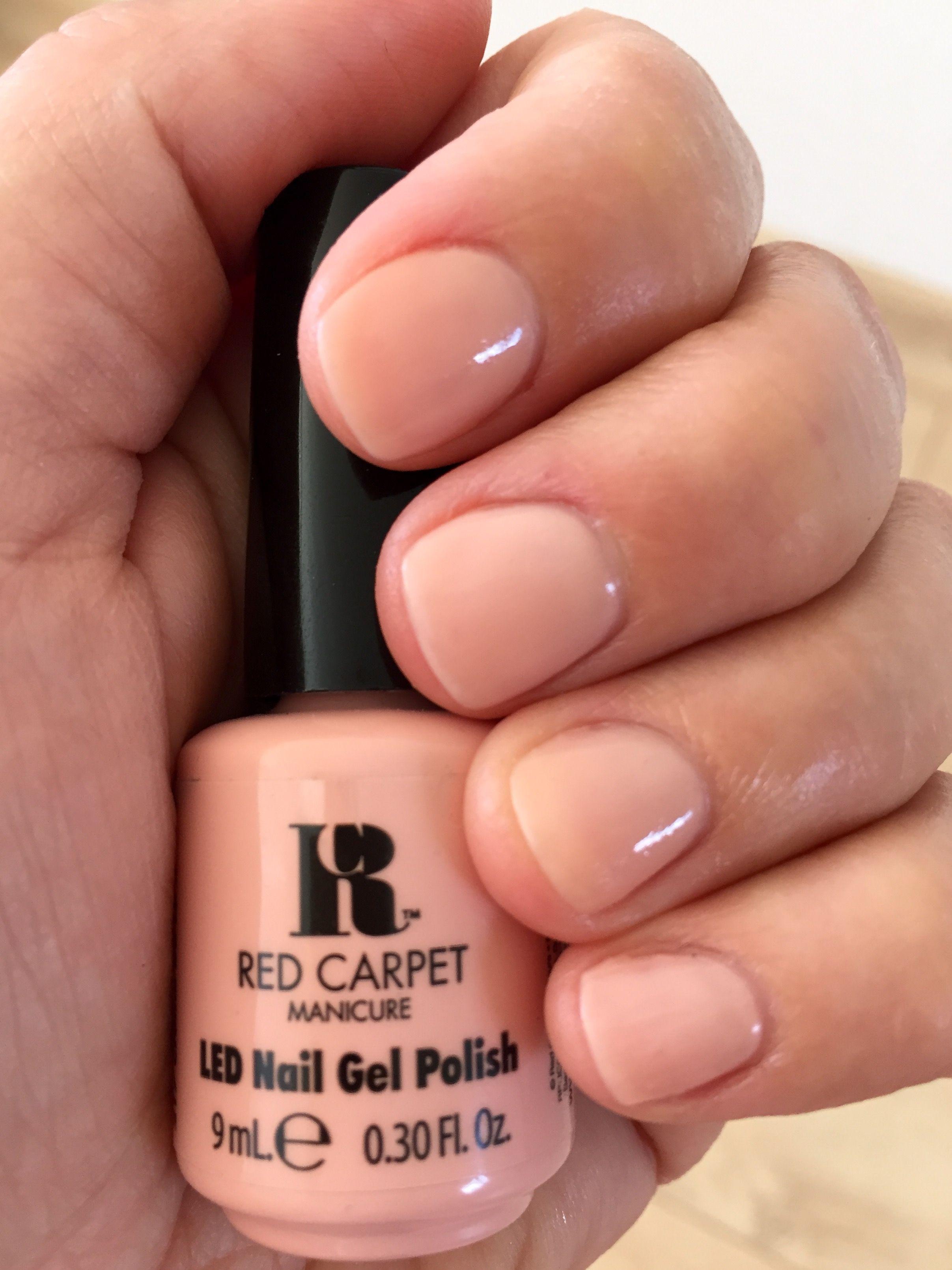Red Carpet Manicure Créme De La Créme (217) Nude nails | Nails in ...