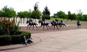 Thoroughbred Park in Lexington, Kentucky.