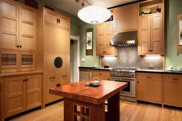 22 Simple Elegant Asian Inspired Kitchen Design Ideas Kitchen Inspiration Design Interior Design Kitchen Custom Kitchen Remodel