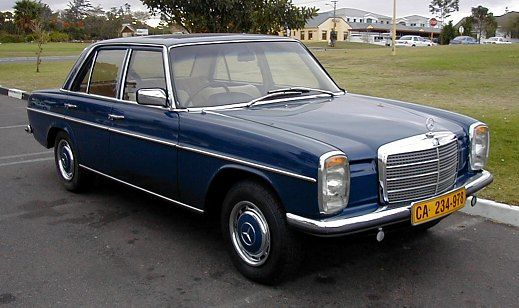 1980 Mercedes Benz - my dream car! (in good condition, of course. not beat up)