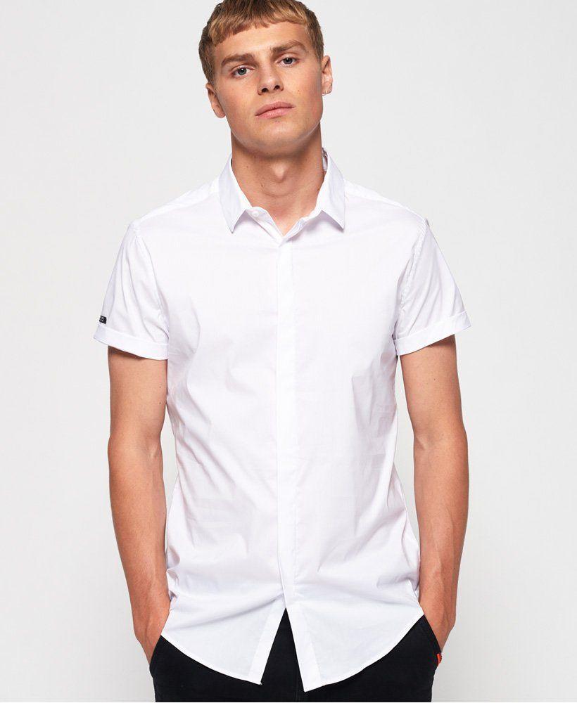Superdry Premium Cotton Dress overhemd Overhemden voor