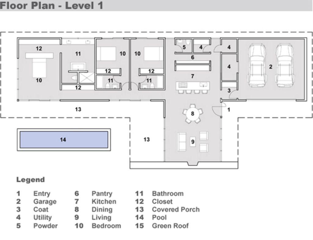 Primer Piso | Planos de planta | Pinterest | Projetos de casas ...