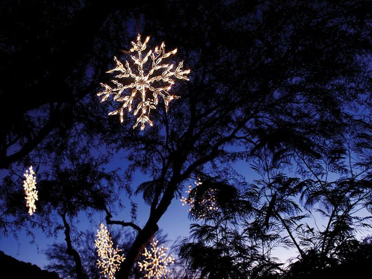 Snowflake lights outdoor outdoor lighting ideas outdoor large guidelines b4888445b009a84a178c9ebdccfeecca lights in trees snowflake jpg 736 aloadofball Gallery