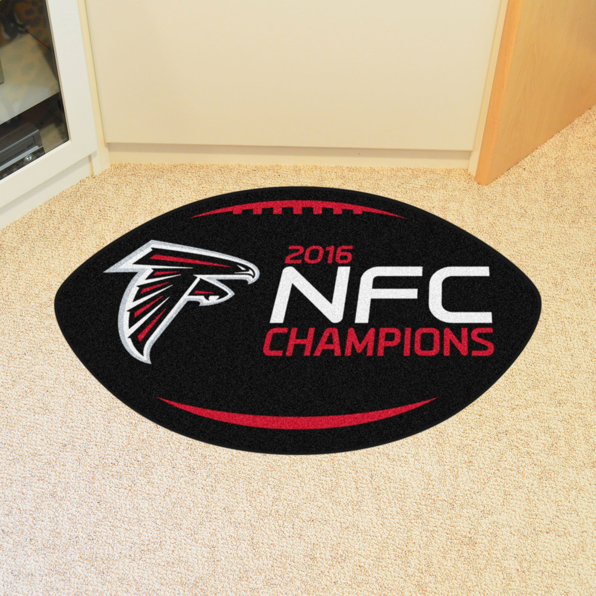 NFL - Atlanta Falcons NFC Champions Football Rug 20.5