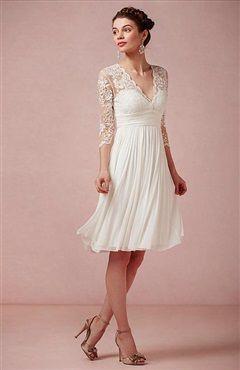 Amazing V-Neck Lace Dress