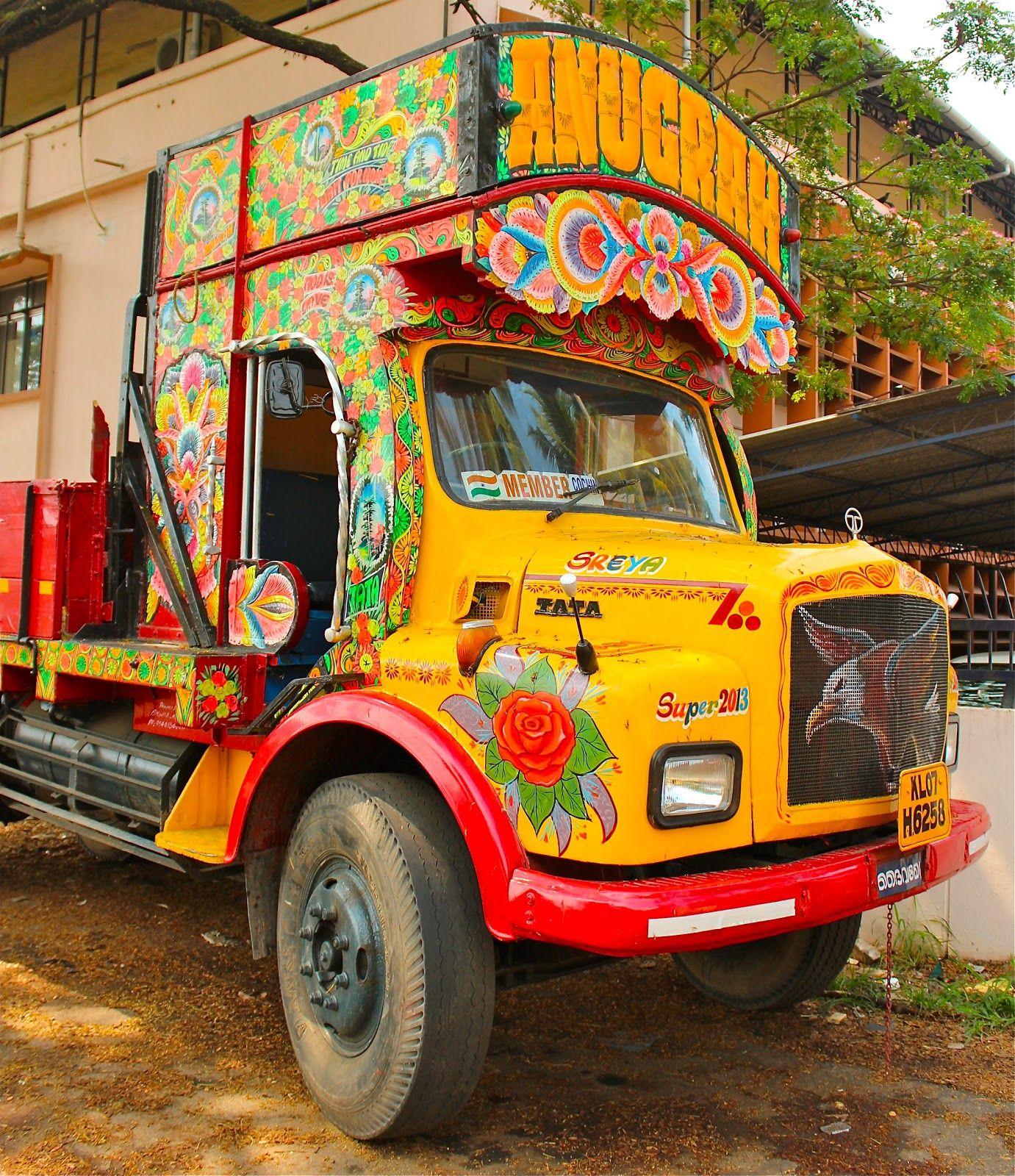 indian truck art Truck art