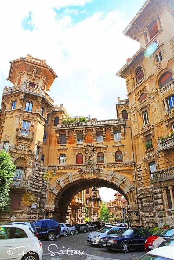 Coppede district is one of the hidden gems of Rome