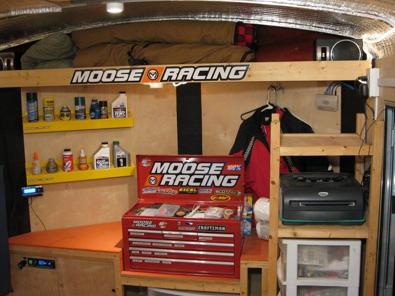 Trailer Setup Enclosed Trailer Trailer Storage