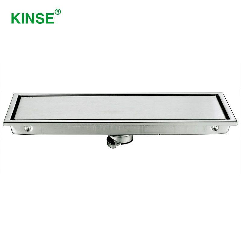 kinse durable stainless steel hidden shower drain rectangle floor rh pinterest co uk