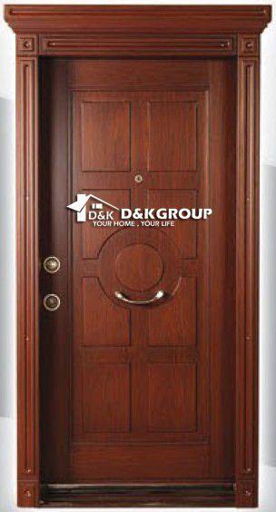 Villa turque style acier bois blind porte d 39 entr e image portes id du produit 440008544 french for Porte entree fer forge villa
